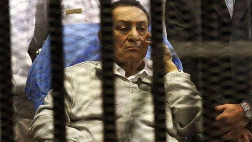 إخلاء سبيل مبارك فى تحقيقات الكسب .. والنيابة تطعن على القرار