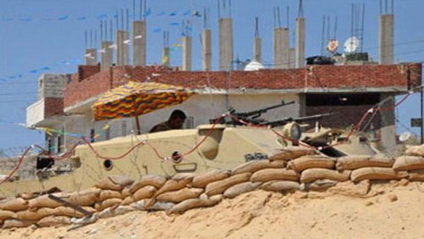 مسلحون يهاجمون حاجزين أمنيين في سيناء