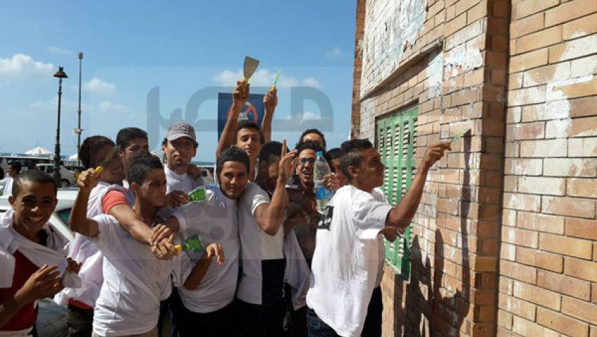 بالصور.. تواصل فعاليات حملة تنظيف الإسكندرية