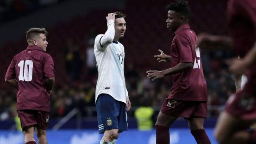 ميسي يغيب عن الأرجنتين فى مواجهة المغرب للإصابة