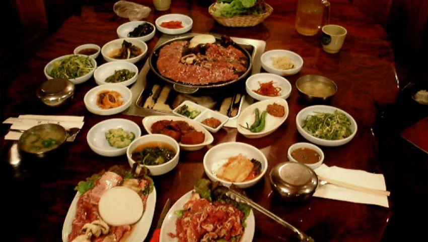 أول مسابقة للطعام الكوري في مصر