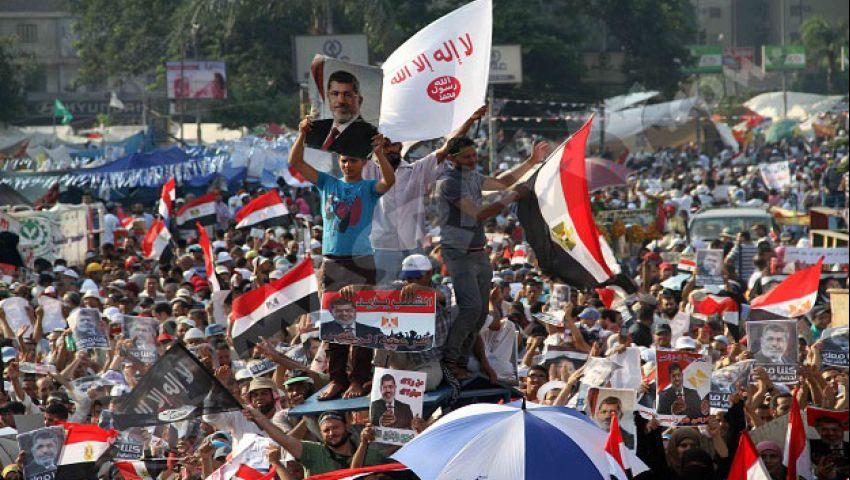 سكان رابعة مستاءون من ممارسات مؤيدي مرسي