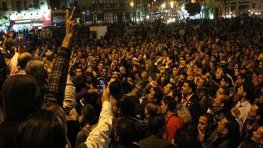 مسيرة حاشدة بالغردقة احتفالًا ببيان الجيش