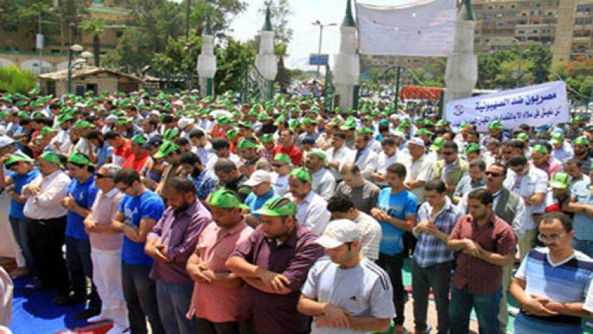 إمام رابعة العدوية يدعو لنصرة مرسي