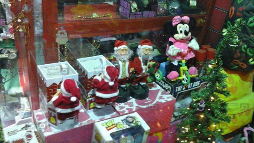 بالصور.. هدية الكريسماس السنة دي بابا نويل بالسلم