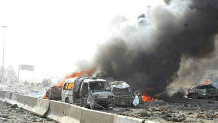 انفجار سيارة مفخخة قرب مطار المزة العسكري في دمشق