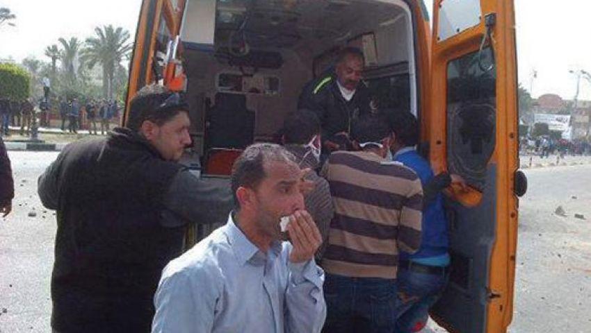 300 مصاب وثلاثة قتلى في تظاهرات الإسماعيلية