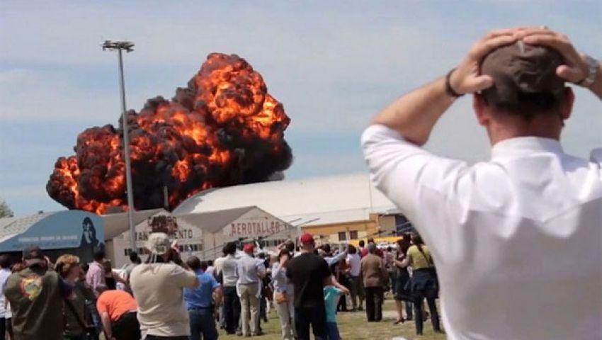 قتيلان في تحطم طائرة خلال عرض جوي بأوهايو