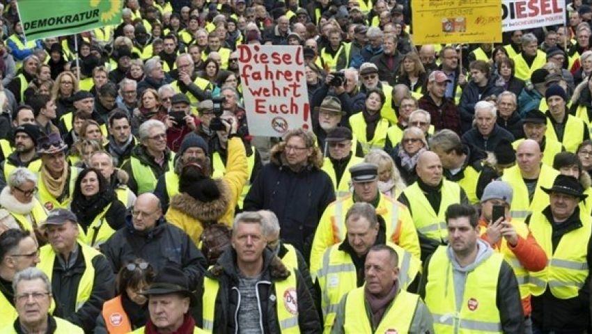 ألمانيا.. عودة احتجاجات «السترات الملونة» للمطالبة بتحسين المعيشة