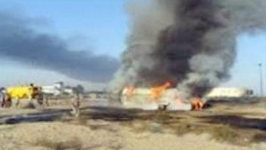 انفجار عبوة ناسفة خلال مرور دورية أمنية بالشيخ زويد