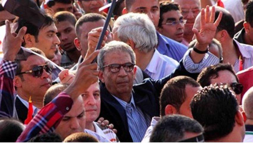 عمرو موسى: خروج الملايين لتفويض الجيش رسالة لمن يهدد أمن مصر