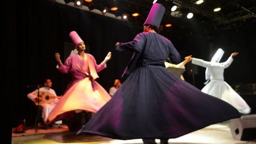 المولوية المصرية على المسرح المكشوف