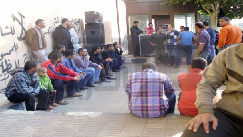 اعتصام كريستال عصفور يدخل يومه السابع
