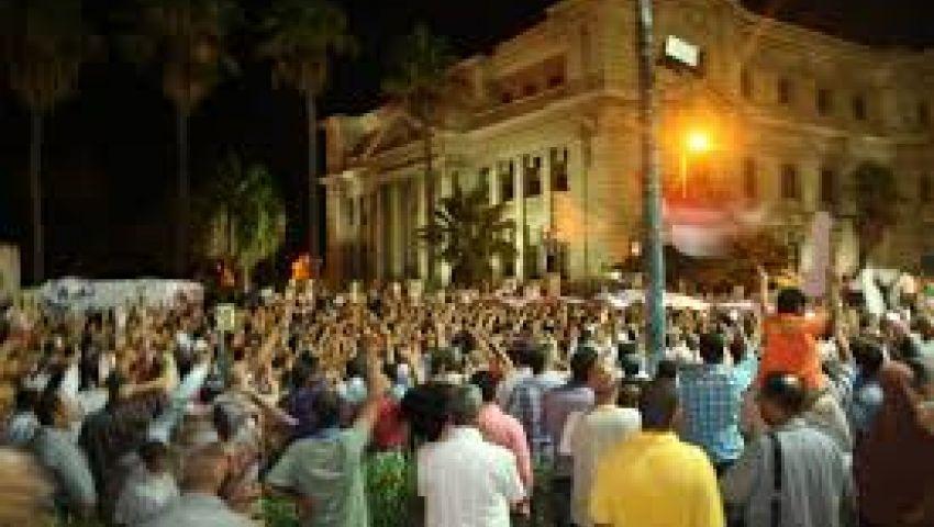 حبس 7 أشخاص لقيامهم بخرق حظر التجوال بالإسكندرية