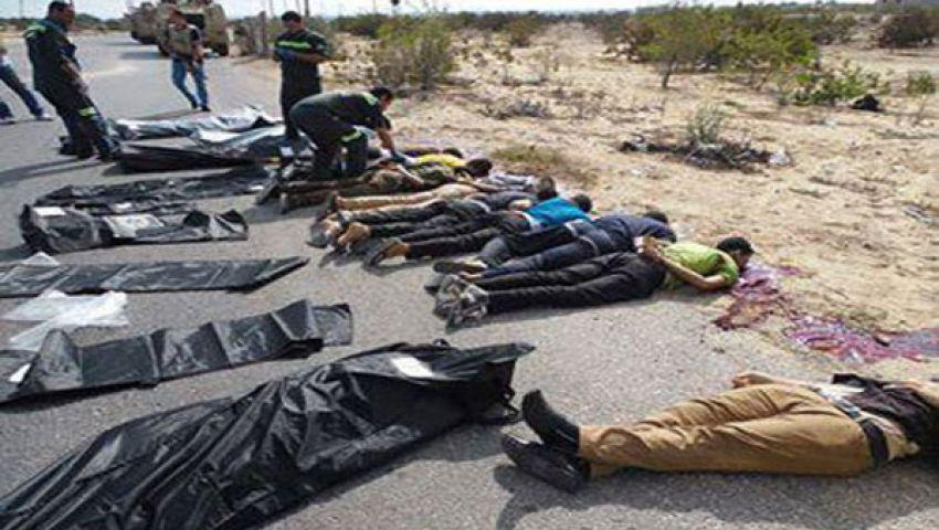 فيديو.. غطاس: القاعدة بـليبيا وراء مقتل جنود العريش