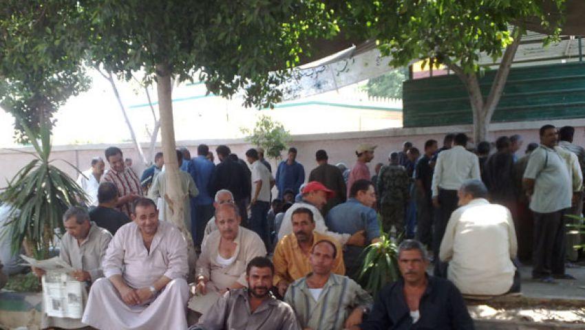 إضراب عمال مصنع تعبئة أسطوانات البوتاجاز بقنا
