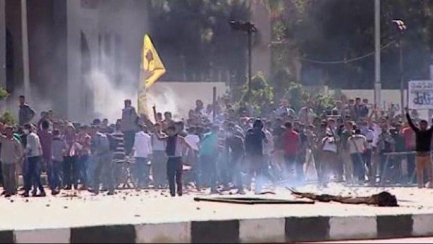 طلاب بالأزهر: تفجير العريش يدعم الحراك الجامعي