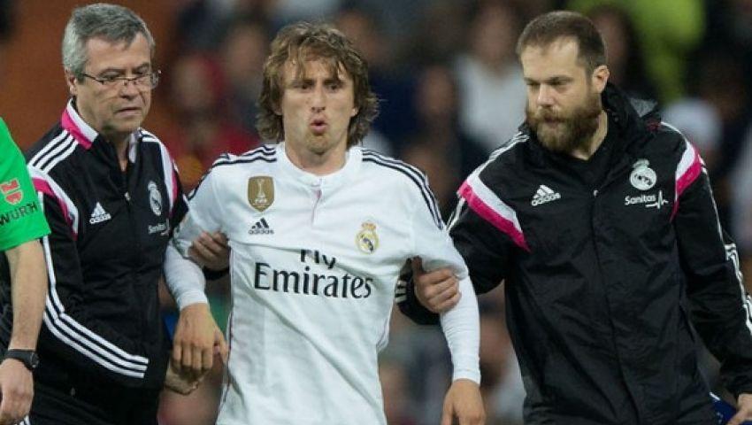 ريال مدريد يكشف سبب غياب مودريتش عن التدريبات