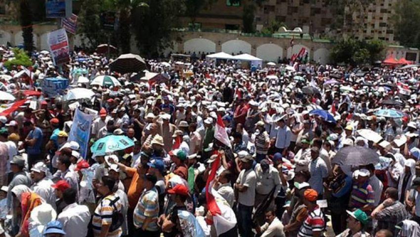 خطيب رابعة العدوية: الداعون للعنف يريدون تدمير مصر