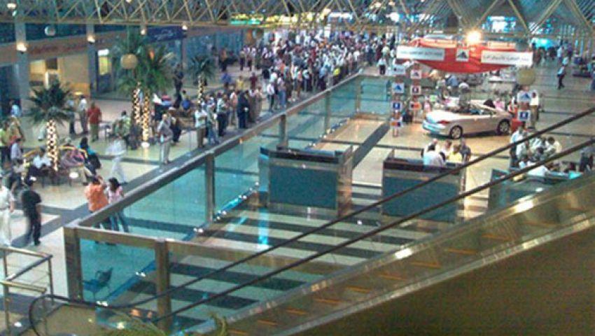 تجمهر عمال بمطار القاهرة للمطالبة بالتثبيت