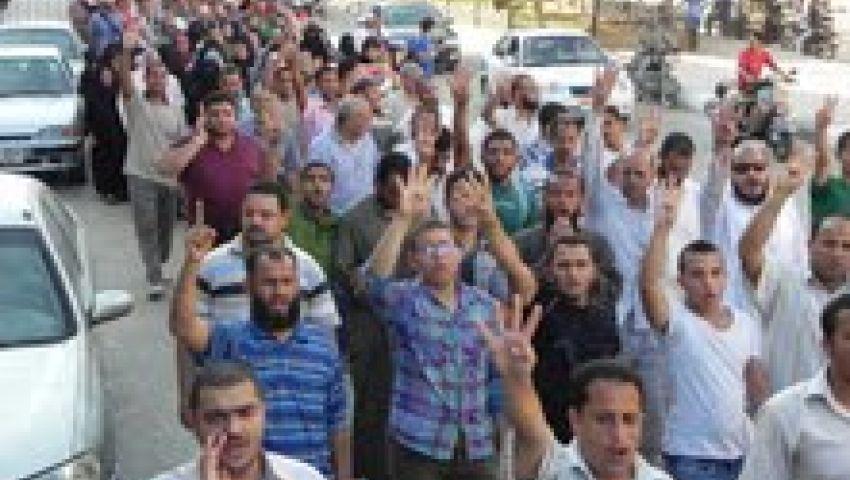 بالفيديو.. مسيرات لمؤيدي مرسي بالفيوم