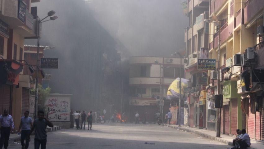 الأمن يطلق النيران على أنصار مرسي بأسيوط