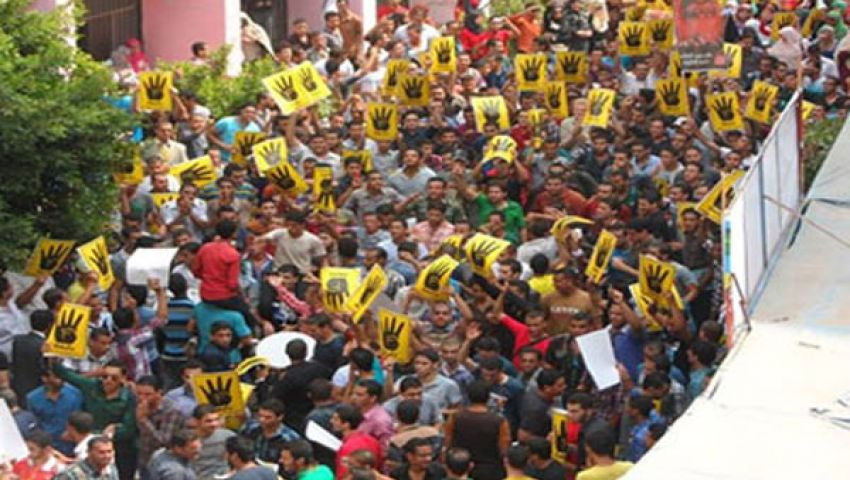 فيديو.. انتفاضة مستمرة بالجامعات ضد الانقلاب