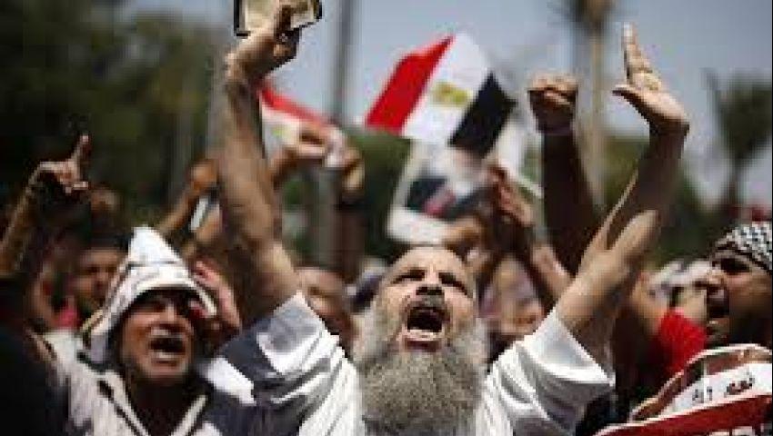 وقفة لمؤيدي مرسي بطنطا
