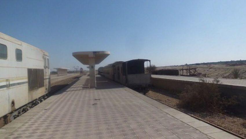 محطة الخارجة: العثور على قطار مختفٍ منذ 8 سنوات أكذوبة