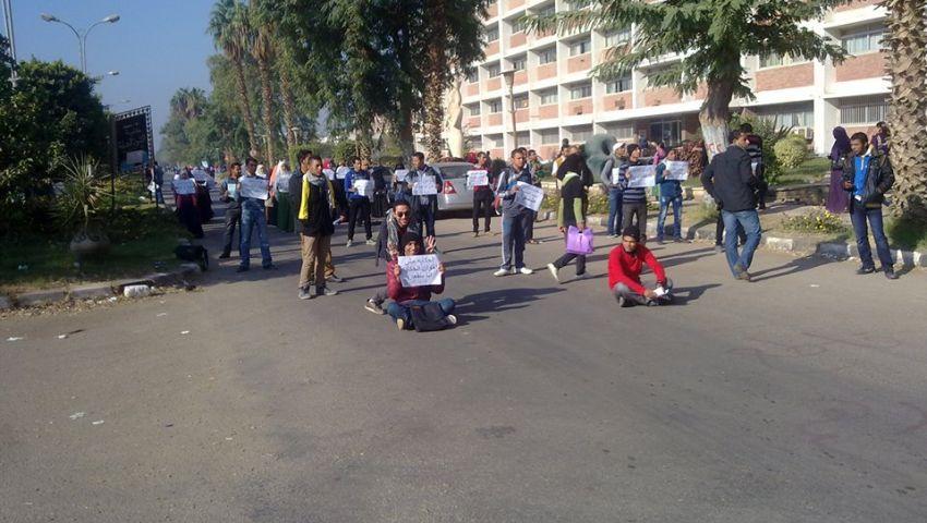 جامعة المنيا تفصل 6 من طلابها بتهمة التظاهر