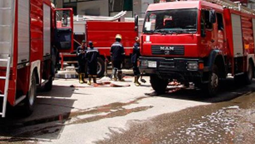 إصابة ضابط وأمين شرطة فى انفجار بإدارة الحماية المدنية بالإسكندرية