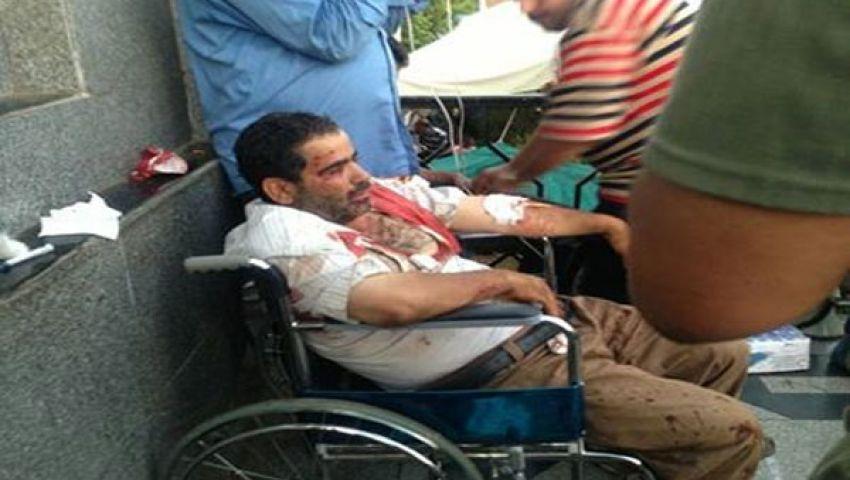طاقم مستشفى التأمين غاضب من متظاهري رابعة