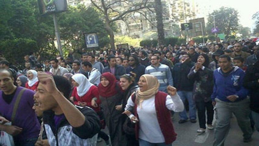 مظاهرتان مؤيدتان لمرسي بالإسكندرية