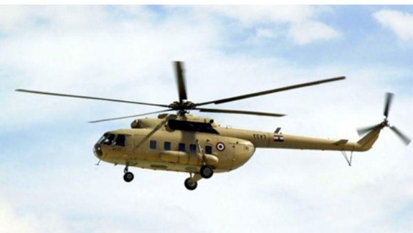 مروحيات عسكرية تحلق فوق مدينة نصر