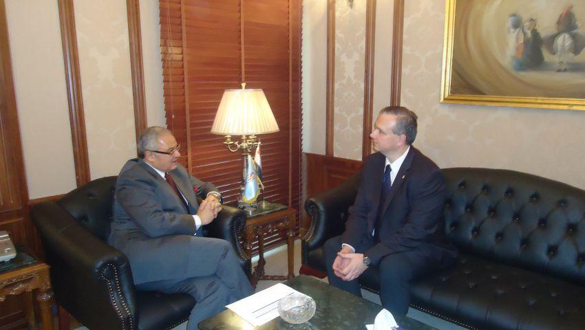 زعزوع يلتقي السفير المجري لبحث التعاون السياحي