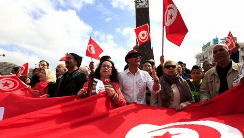 انطلاق مسيرة تونس ضدّ الإرهاب بمشاركة عشرات الآلاف