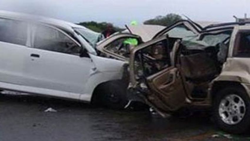 مصرع وإصابة 7 في حادث بالسادات