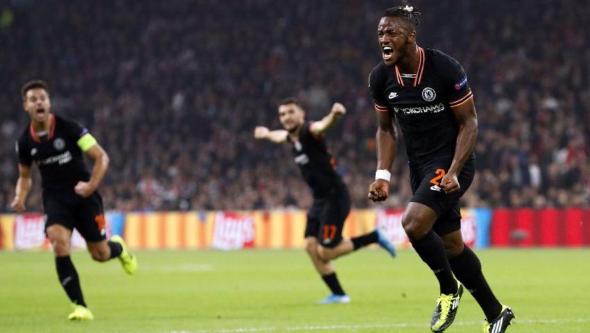 فيديو| «الشامبيونزليج».. تشيلسي يعود  بفوز ثمين من أمستردام