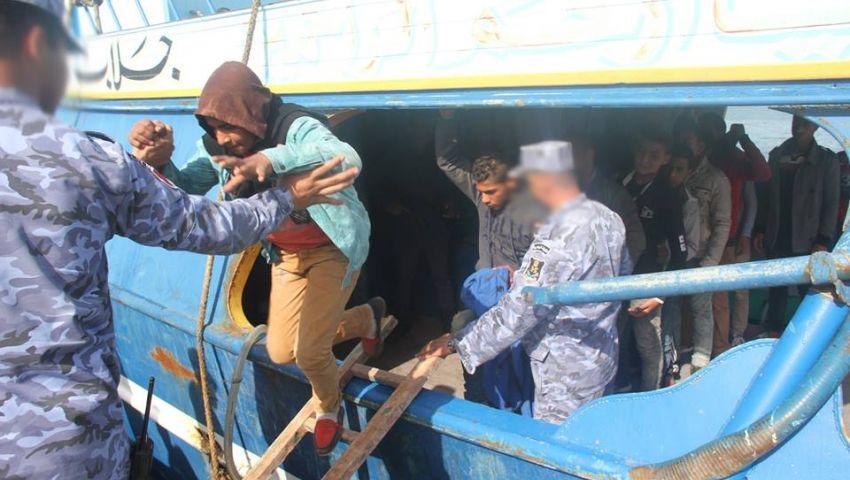 القوات المسلحة: إحباط محاولة هجرة 14 شخص إلى ايطاليا