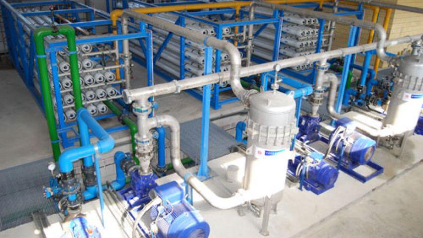 548 مليون جنيه تكلفة توسعات محطة مياه العاشر