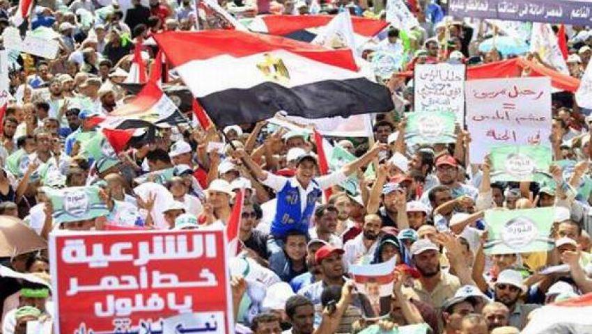 اليوم .. مليونية كسر الانقلاب لمؤيدي مرسي والنصر لمعارضيه
