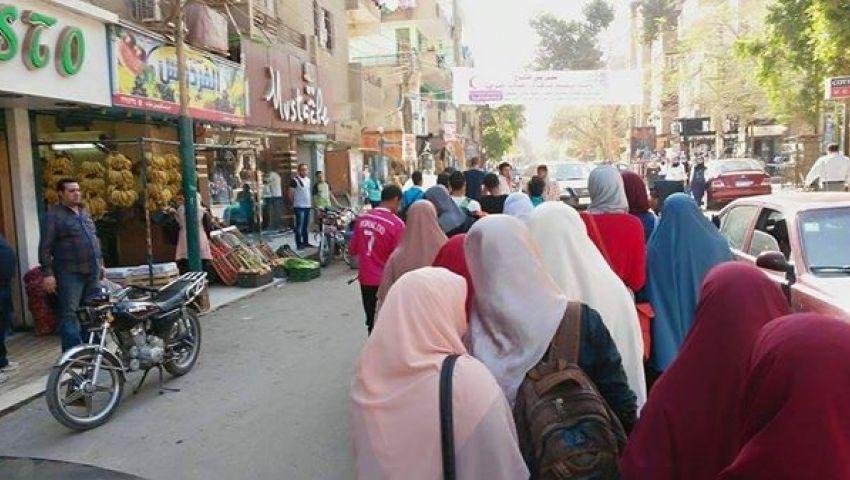 بالصور..مسيرة طلابية ببني سويف للإفراج عن المعتقلين