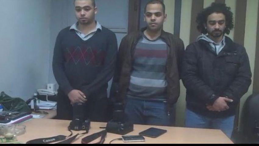 القبض على 3 مصورين بقناة الجزيرة بحلوان