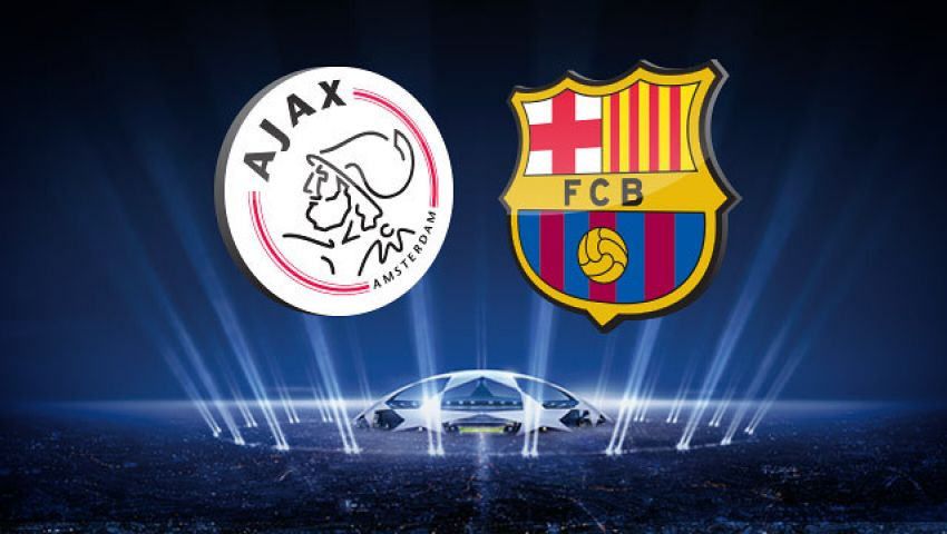 مشاهدة مباراة برشلونة وأياكس .. بث مباشر