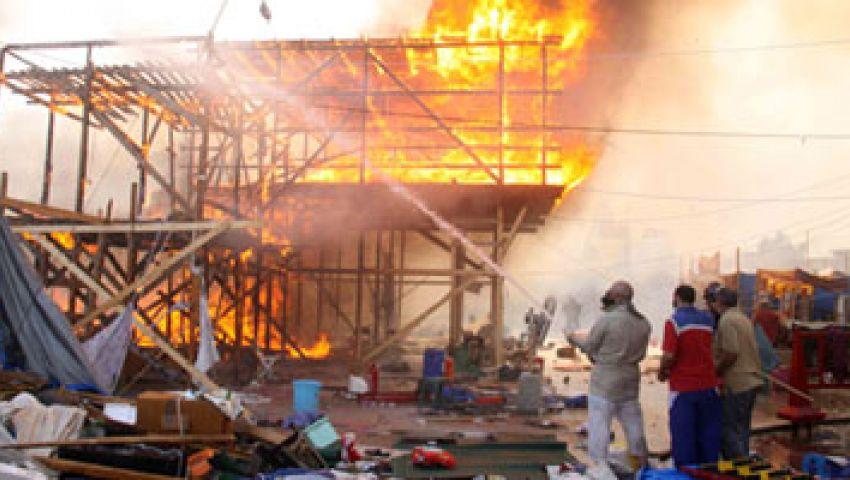 فيديو.. حرق جثث إخوان أثناء فض اعتصام رابعة