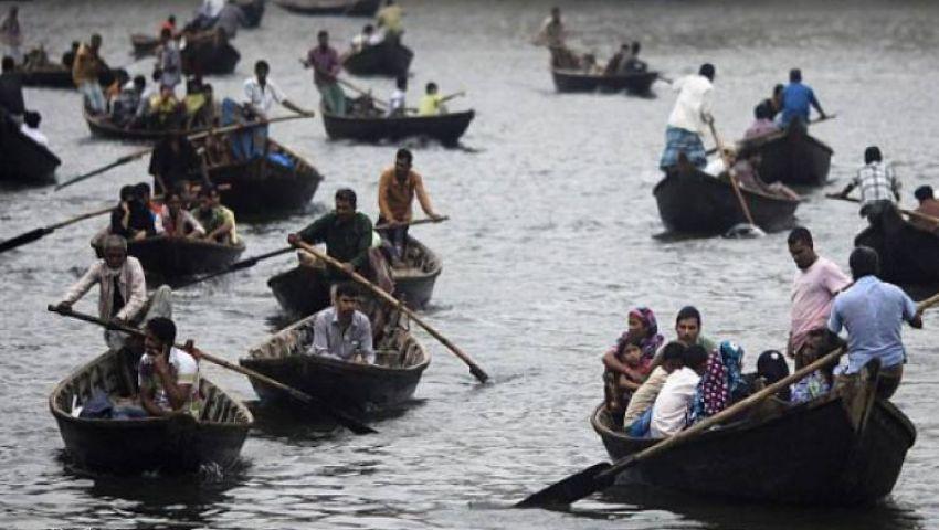 فيديو.. مقتل 27 مواطنا فى ميانمار بسبب الفيضانات