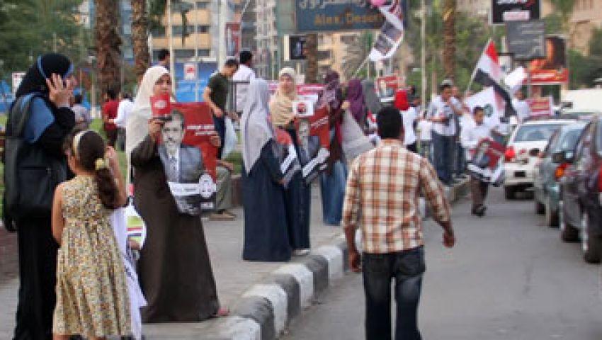 مسيرة لأنصار مرسي بالإسكندرية