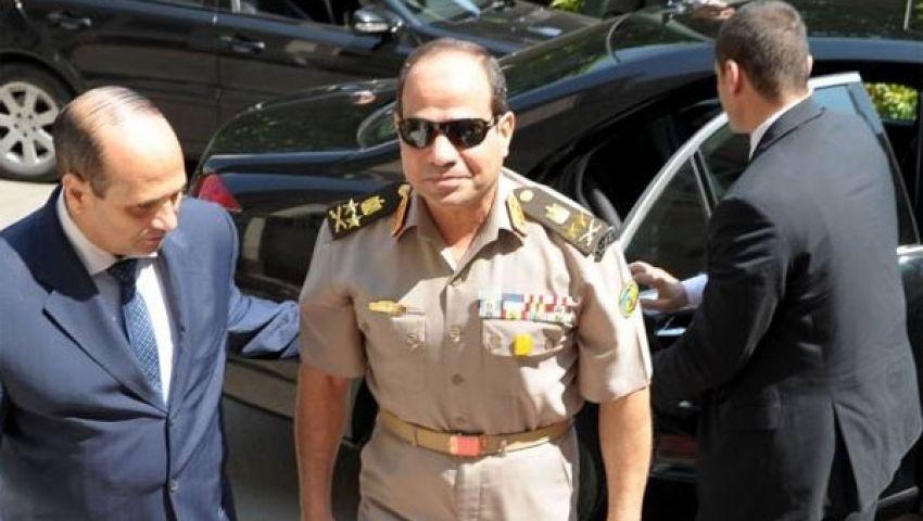 السيسي وقادة القوات المسلحة يهنئون الشعب المصري
