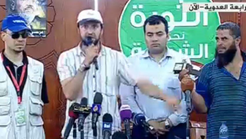 صفحة الشرطة: الجيش هدم سور مؤيدي مرسي