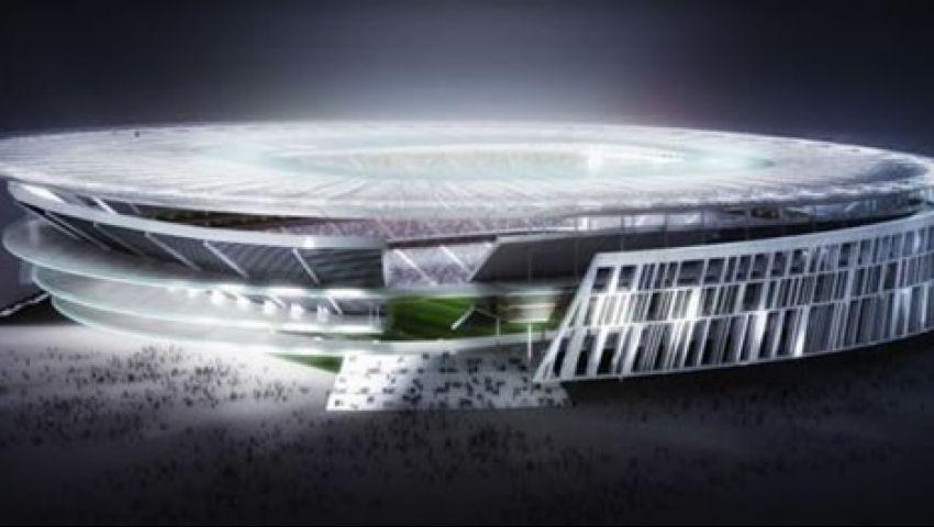 روما يكشف عن مشروع استاده الجديد